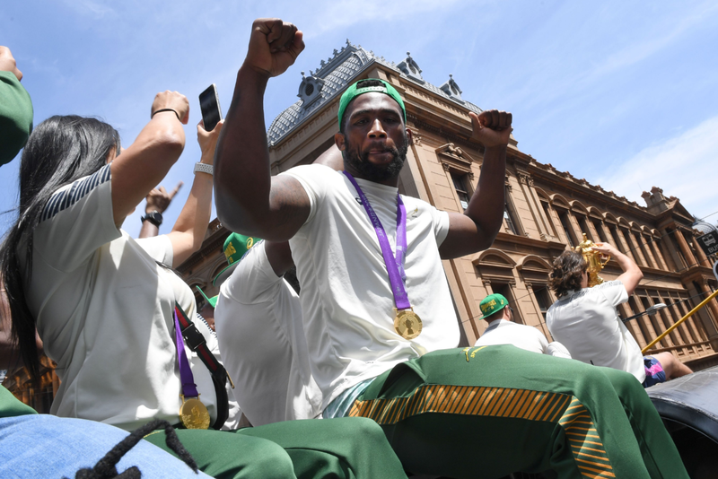 Kolisi thanks South Africa for 'unbelievable support'