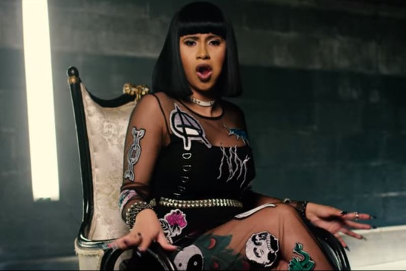 Say What? Cardi B Gets A Tattoo Of Offset's Name On Her Thigh