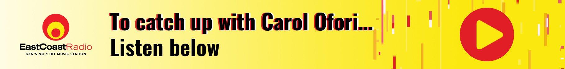 Carol's Podcast Banner