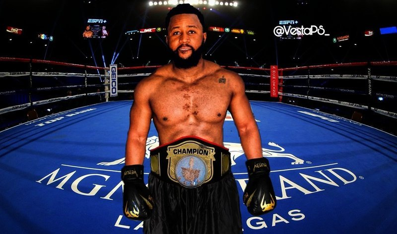 Cassper Nyovest in his boxing outfit