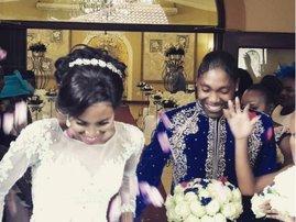 Caster Semenya ties the knot