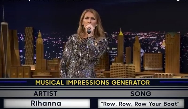 Celine Dion Impersonations