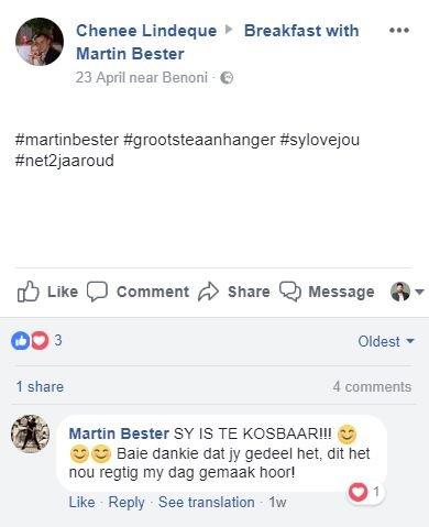 Martin reply