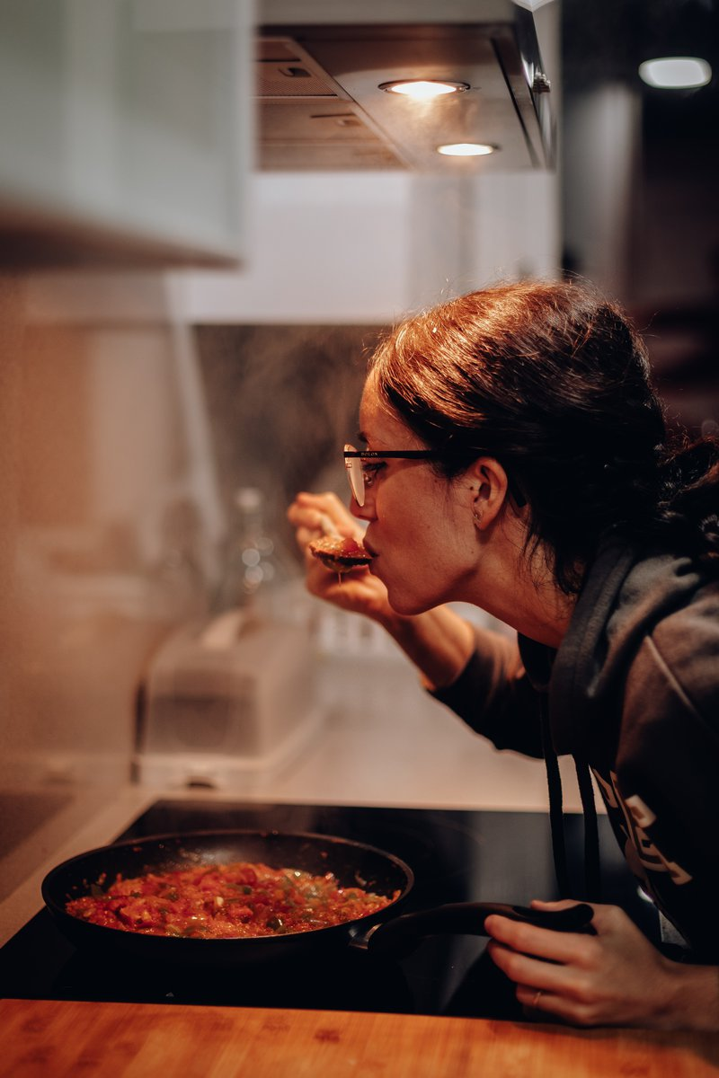 chef tasting stew