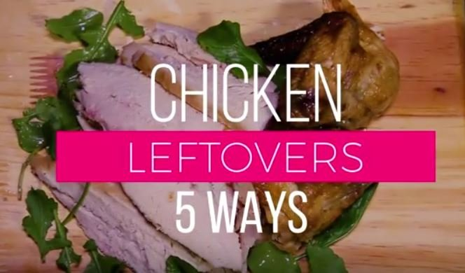 Recipe: 5 Chicken leftover recipes