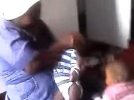 Childminder abusing infant
