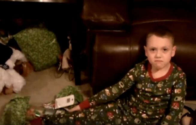 Kids react to bad Christmas presents