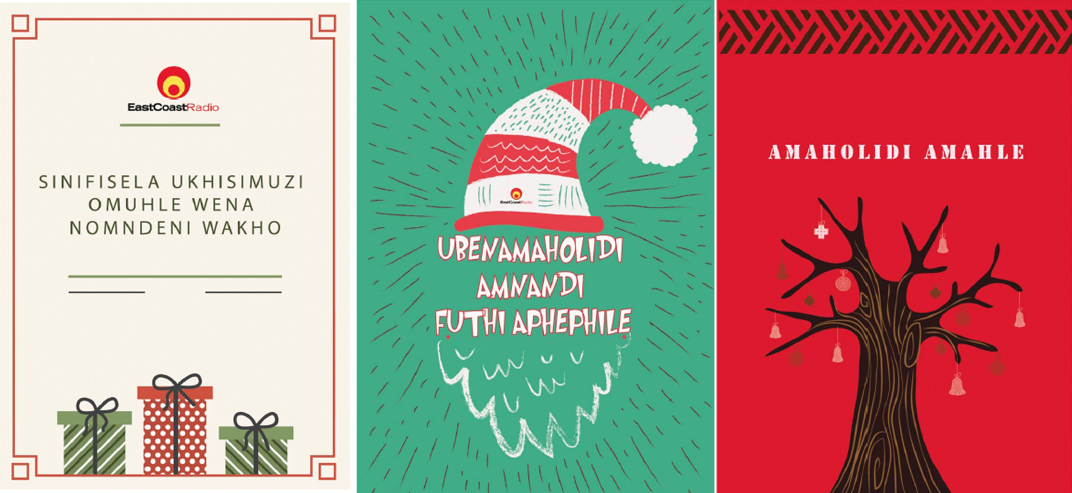 IsiZulu festive greeting cards