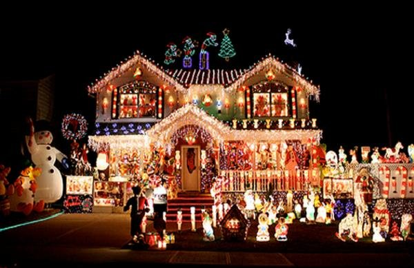this family has taken decorating your house for christmas to a new level