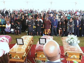Empangeni church collapse victims laid to rest