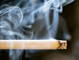 breakfast cigarettes