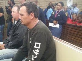 Coffin assault accused