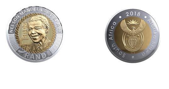 Nelson Mandela centenary coins