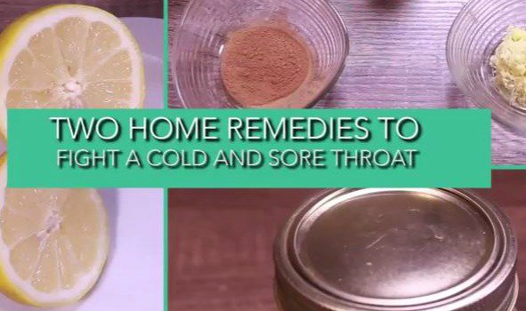 Home remedies cold and sore throat