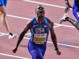American athlete Christian Coleman suspended