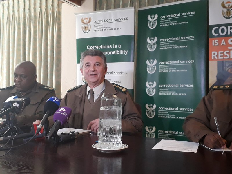 Correctional services apologises for 'disturbing' strip show