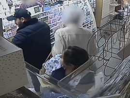 couple steals from elderly woman