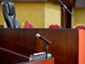 Courtroom, court case
