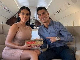 Cristiano Ronaldo and Georgina