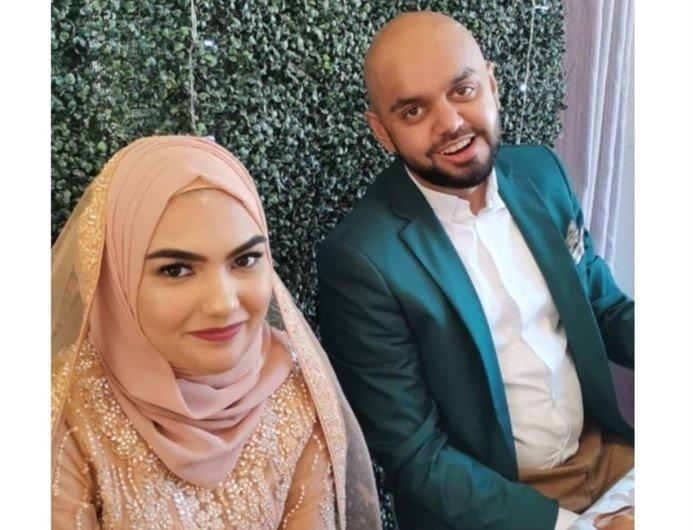 Nabeelah and Zaheer Sarang Crosby couple electrocuted