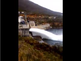 berg river dam release