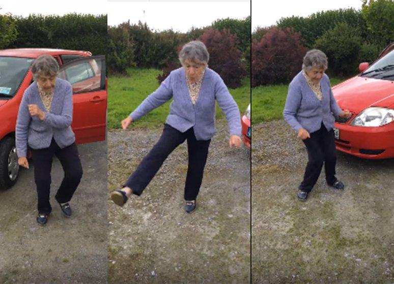 dancing grandma despacito