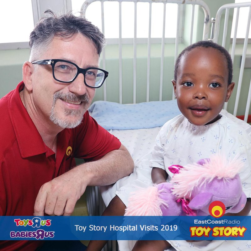 darren at hospital visits