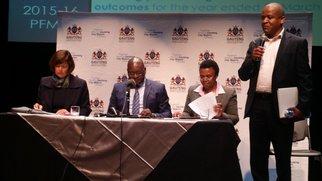 David Makhura audit briefing_jacanews