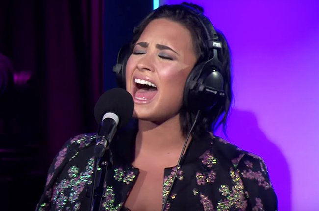 Demi Lovato's cover of 'Take Me To Church' is out of this world
