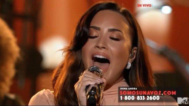 Demi Lovato One Voice: Somos Live! telethon