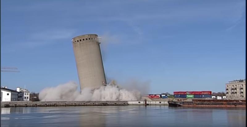 3 Silo Demolition : Silo demolition ends in disaster denmark