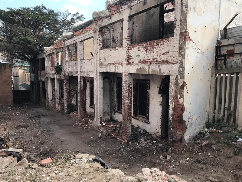 Derelict buildings