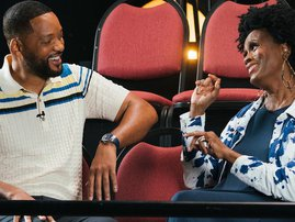 Will Smith and 'aunt Viv' Janet Hurbet squash beef during the Fresh Prince Reunion