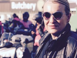 dianne broodryk on bikers for mandela day
