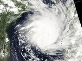 Cyclone Dineo via Satellite