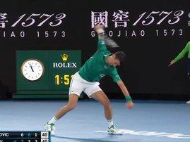 Djokovic Smash
