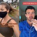 Doctor explains blood taste while exercising
