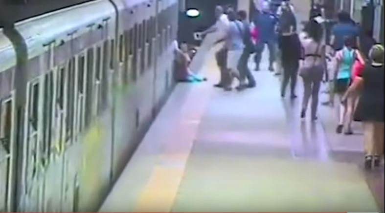 Woman Trapped in Rome Metro Doors Dragged Down Platform