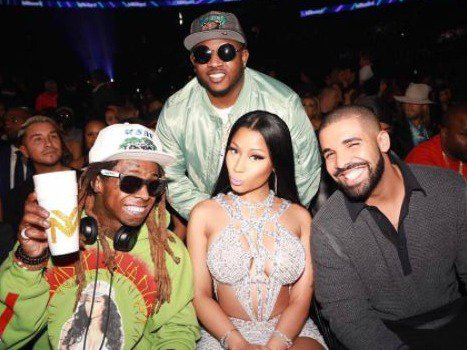 Lil Wayne And Drake And Nicki Minaj What the stars wore to...