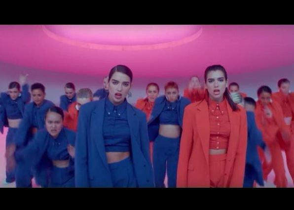 Dua Lipa 'IDGAF' video