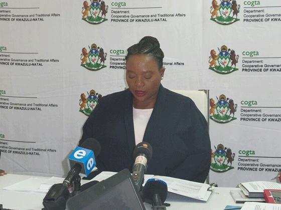 MEC Nomusa Dube-Ncube