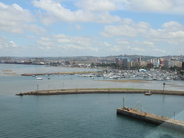 Durban harbour - ECR Newswatch file photo