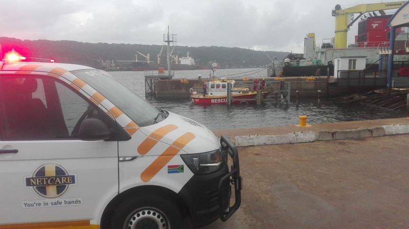 Two ill seamen rescued, brought to Durban shore