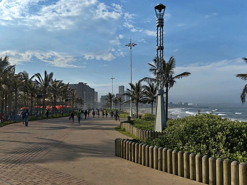 Durban Beachfront promenade
