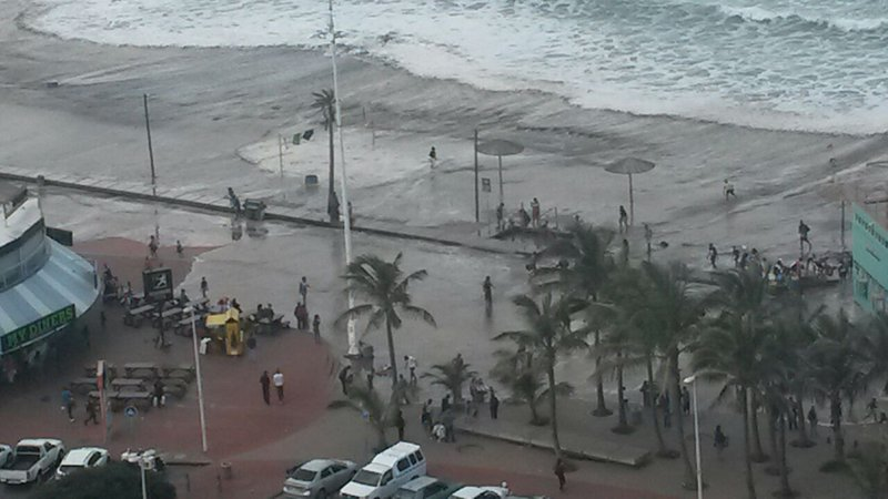 Durban beaches closed due to massive waves