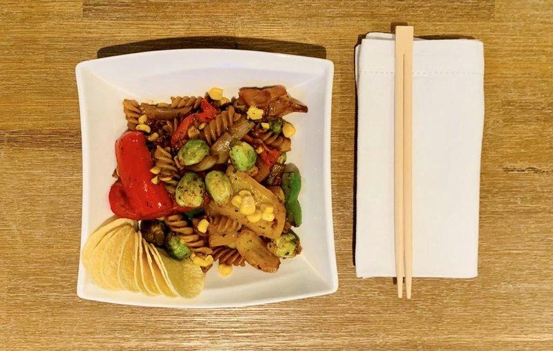 Meat-free stir-fry