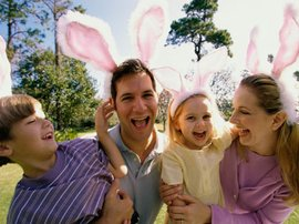 family fun over Easter