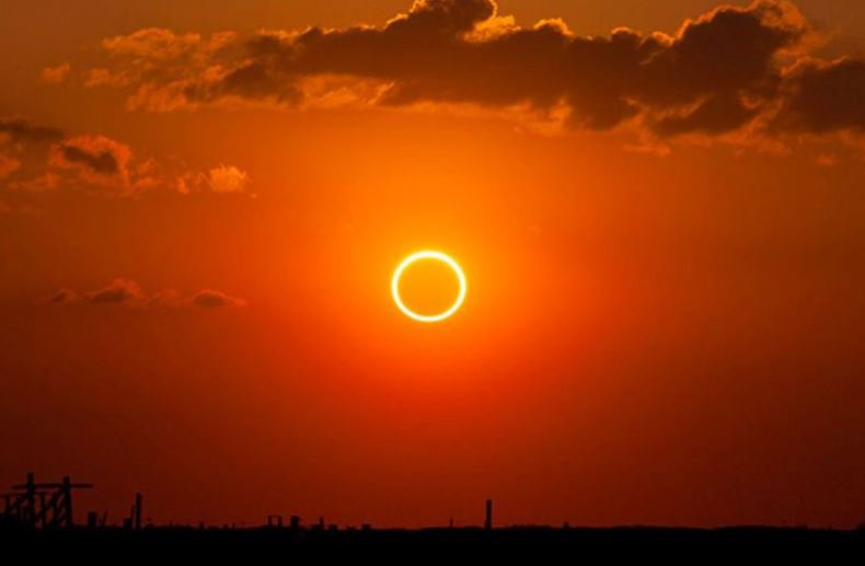 Rare Ring Of Fire Solar Eclipse To Dim Africa Sunday