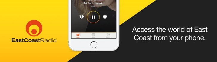 east coast radio app