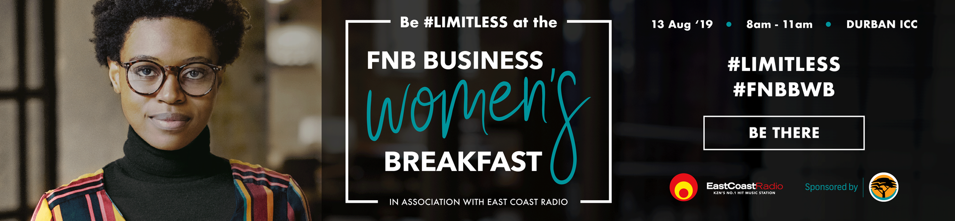 FNB Business Women's Breakfast in association with East Coast Radio Cover image